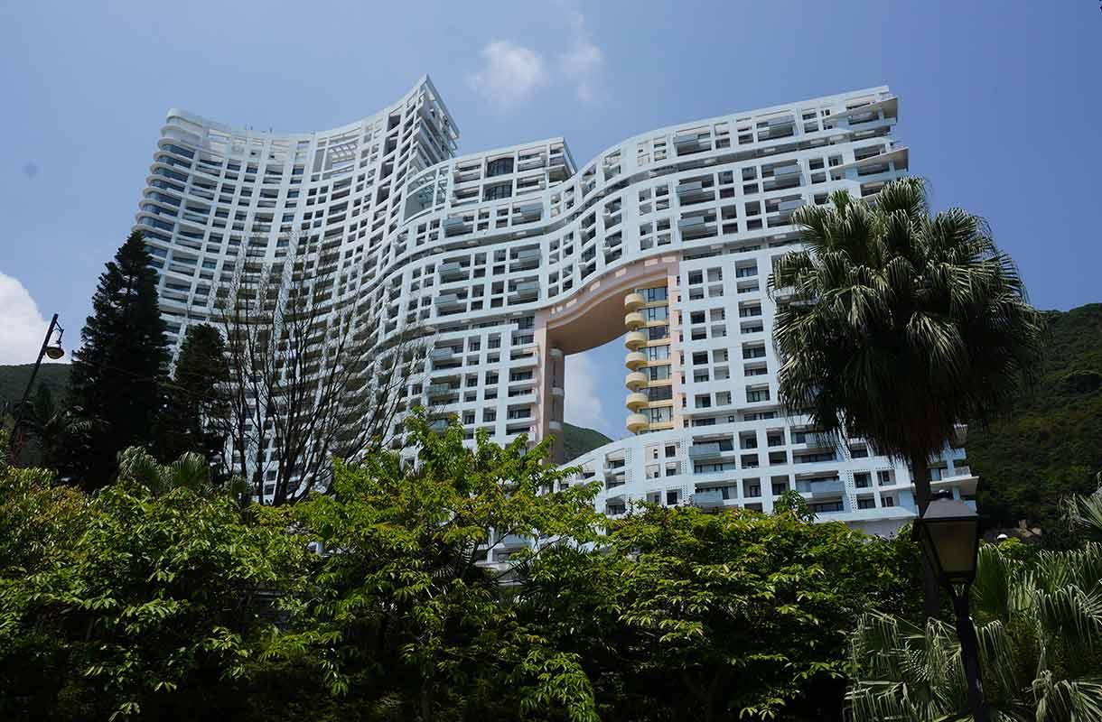 Rakennus Hongkongissa