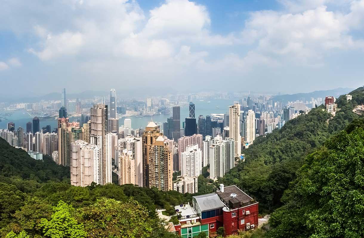 Hongkongin Victoria Peak