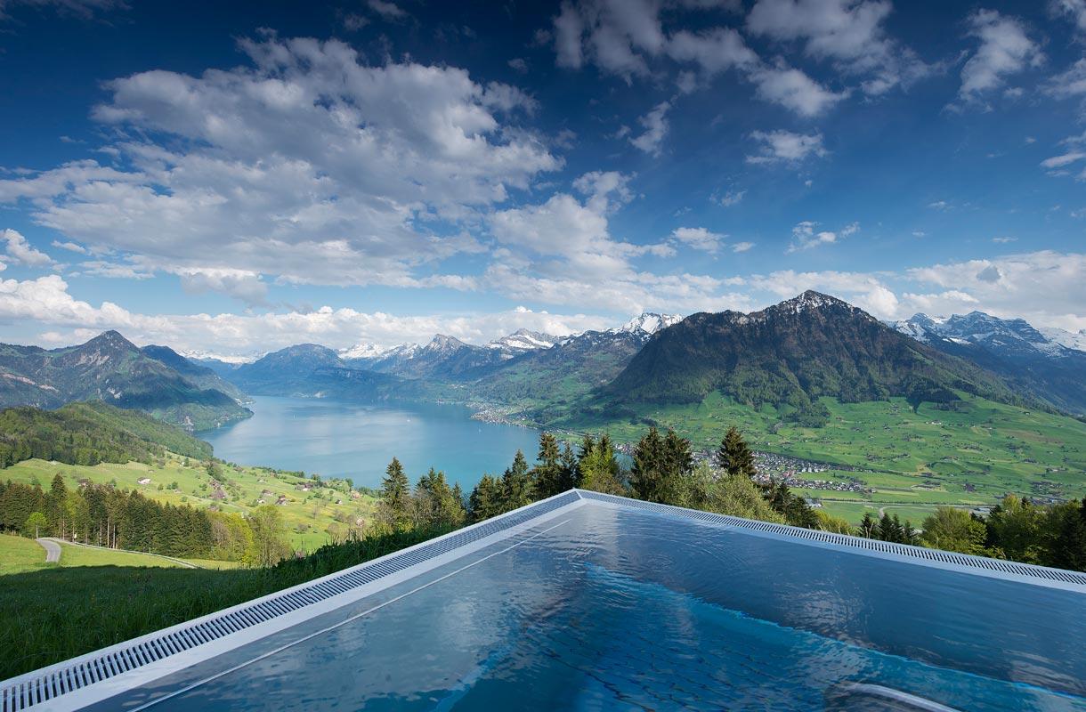 Hotelli Villa Honegg Sveitsissä