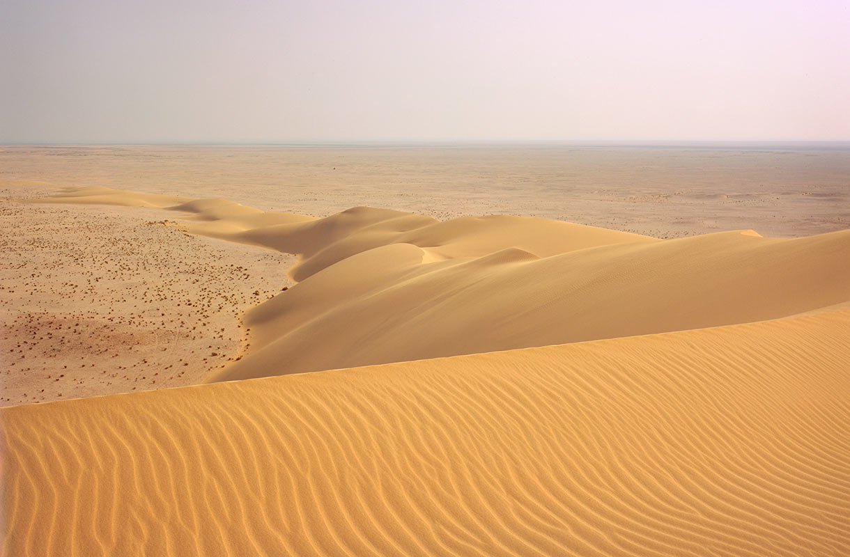 Aavikkomaisema Qatarissa