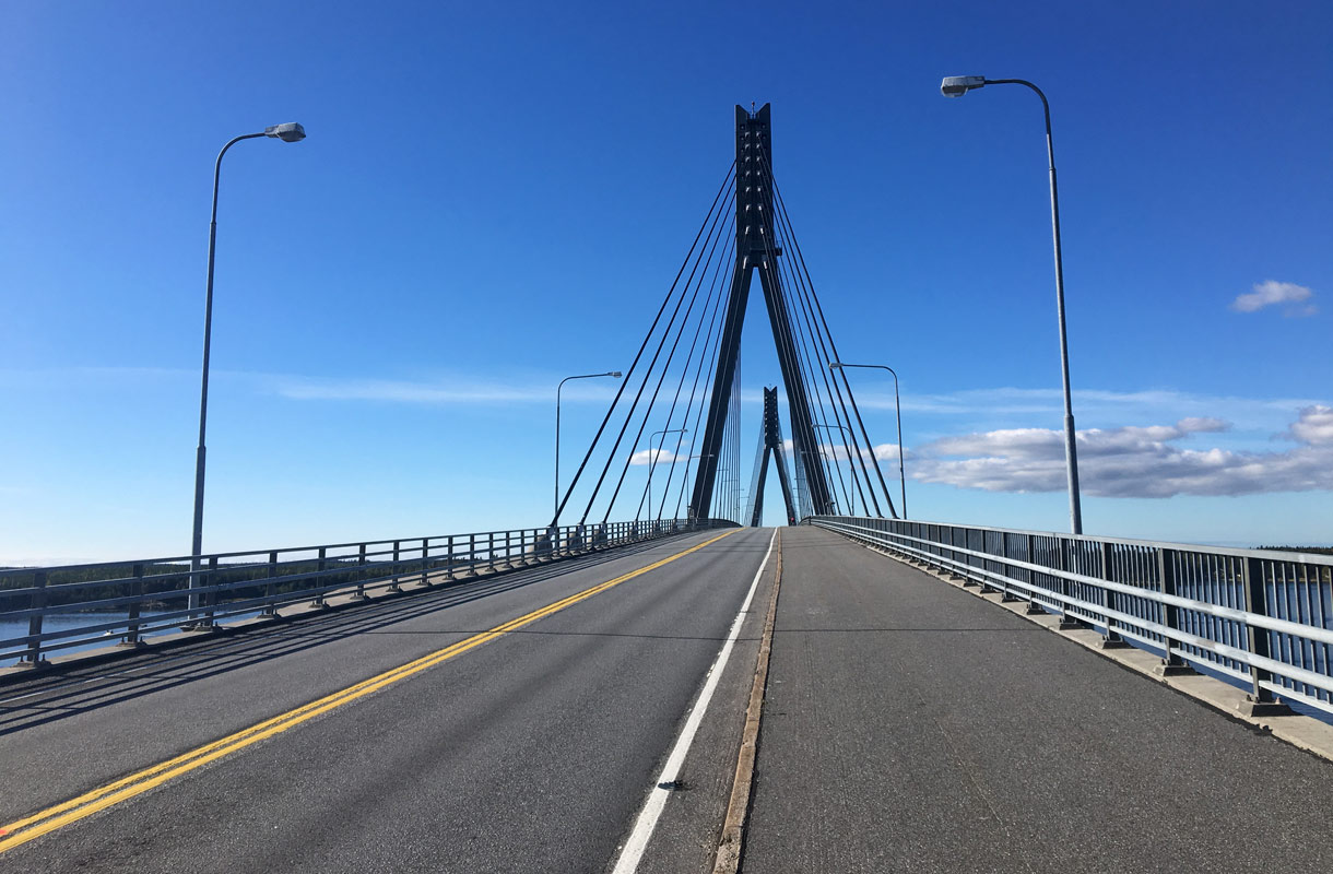 Suomen pisin silta