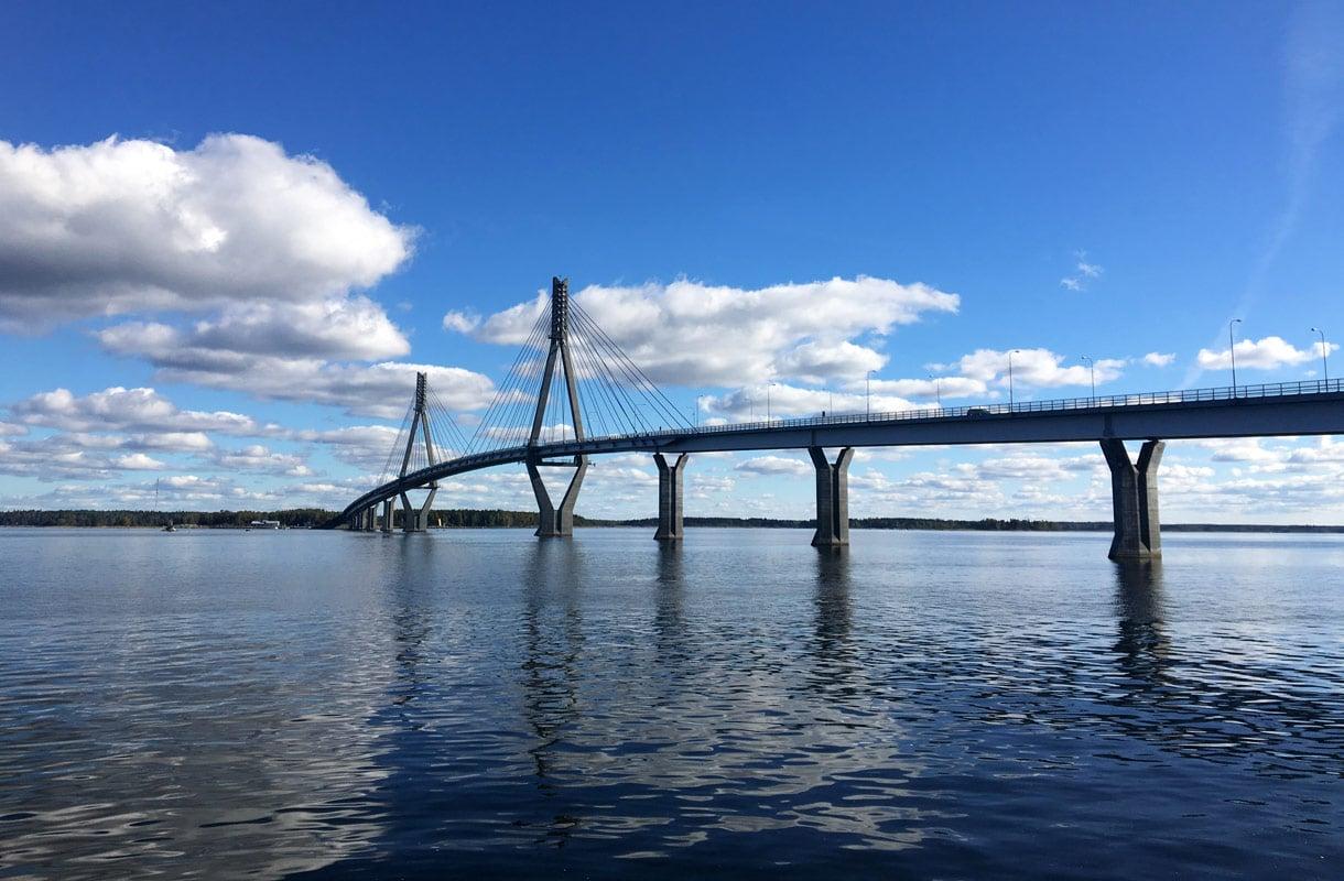 Raippaluodon silta on Suomen pisin