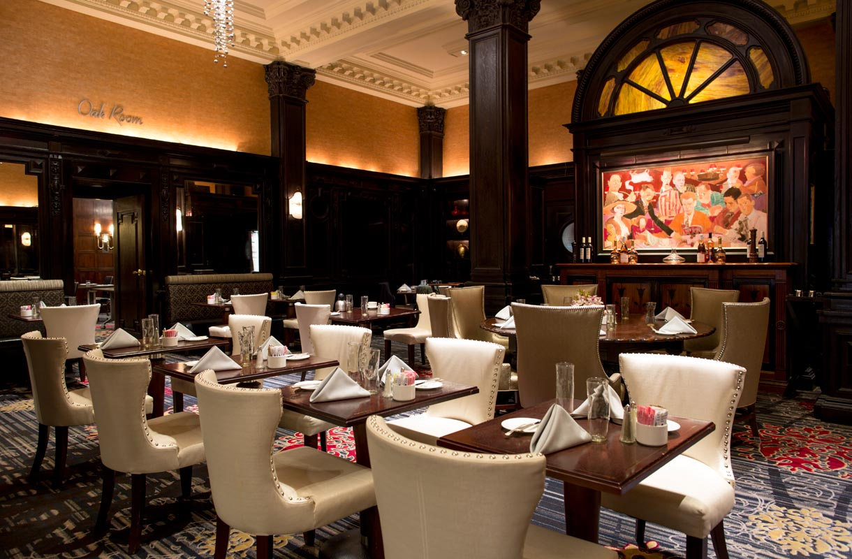 Round Table -ravintola Algonquin-hotellissa