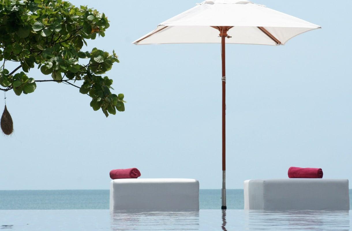 Suomalaisyrittäjien luksushotelli Thaimaassa