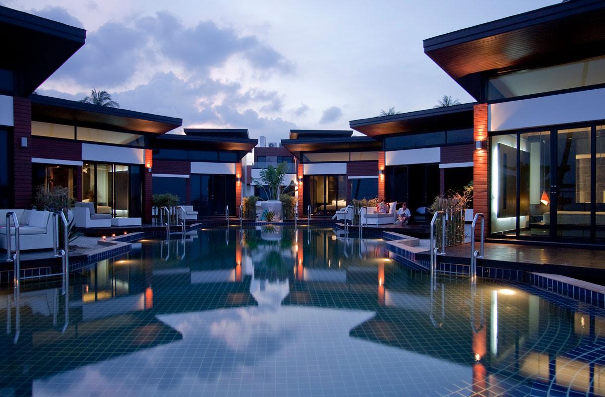 Uima-altaaseen suoraan hotellihuoneesta