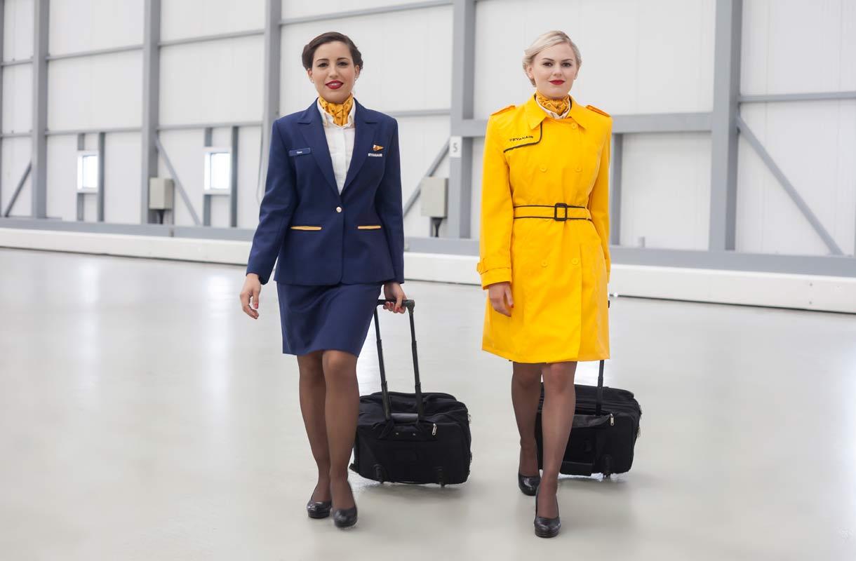 Ryanairin lentoemännät