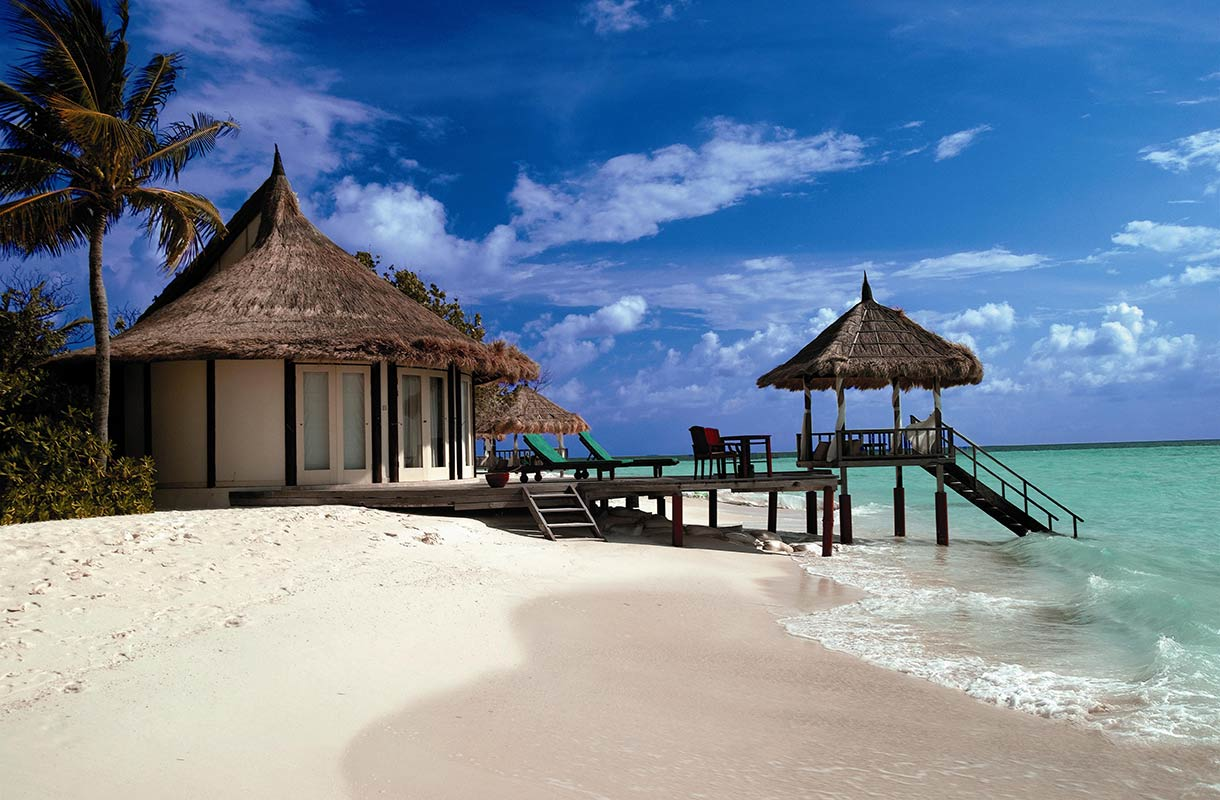 Huvila Malediiveilla