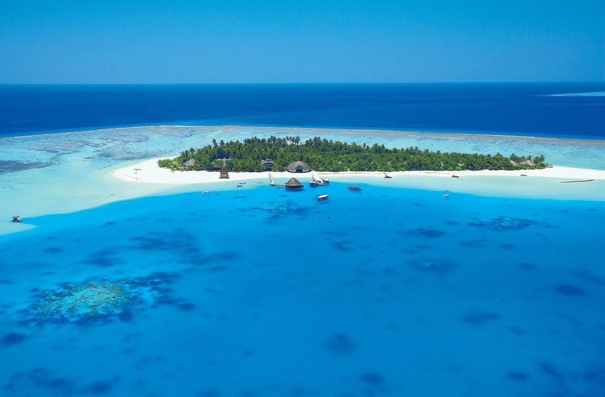 Saari Malediiveilla