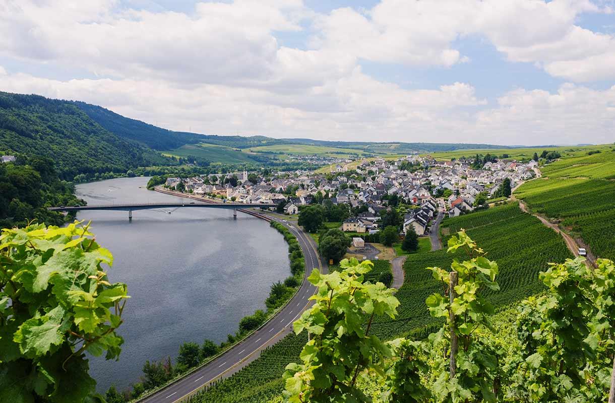 Jokimaisema Saksassa