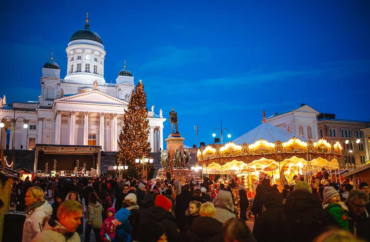 Joulumarkkinat Helsingissä