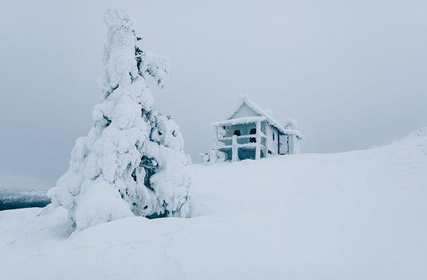 Joulupukin Mokki Levilla On Suosittu Kuvauskohde
