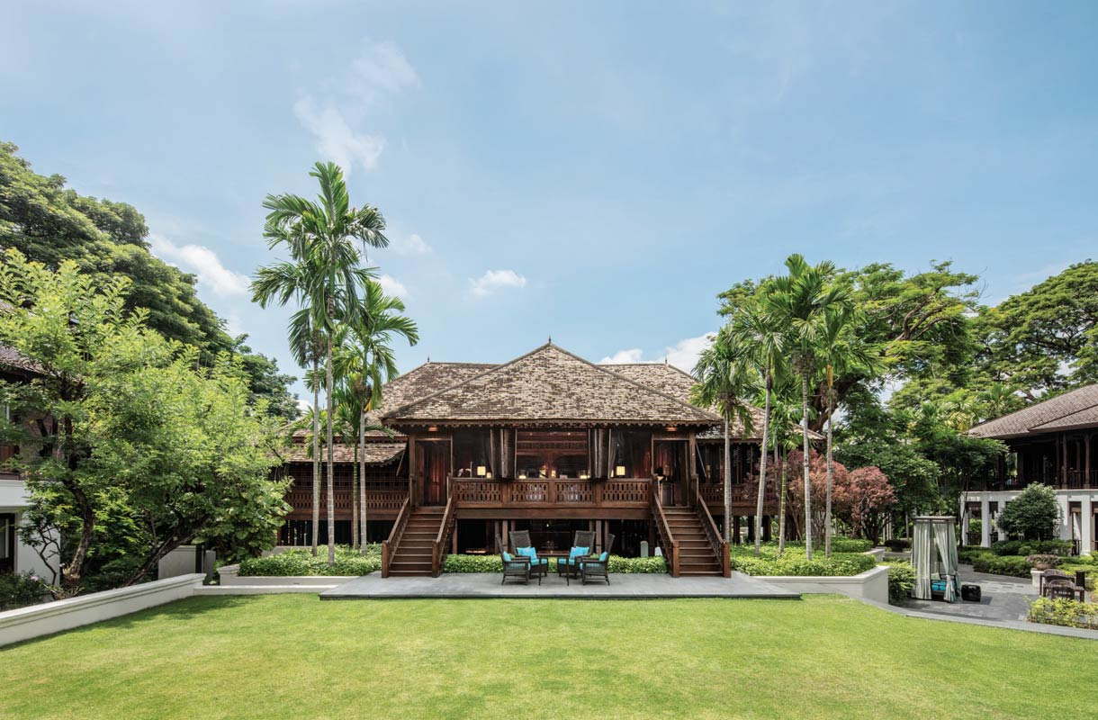 137 Pillars House -hotelli Chiang Maissa