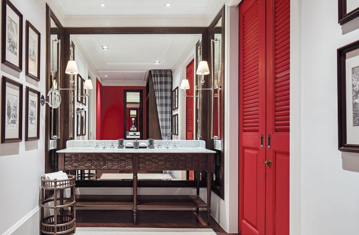 Hotellihuone 137 Pillars House -hotellissa