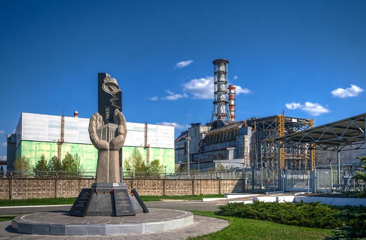 Vierailu Tšernobylin nähtävyyksillä