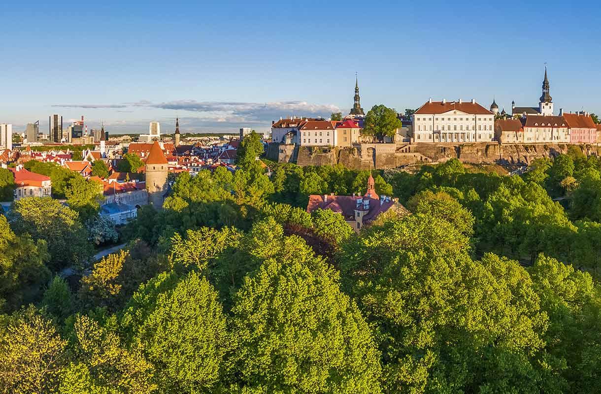 Maisema Tallinnassa