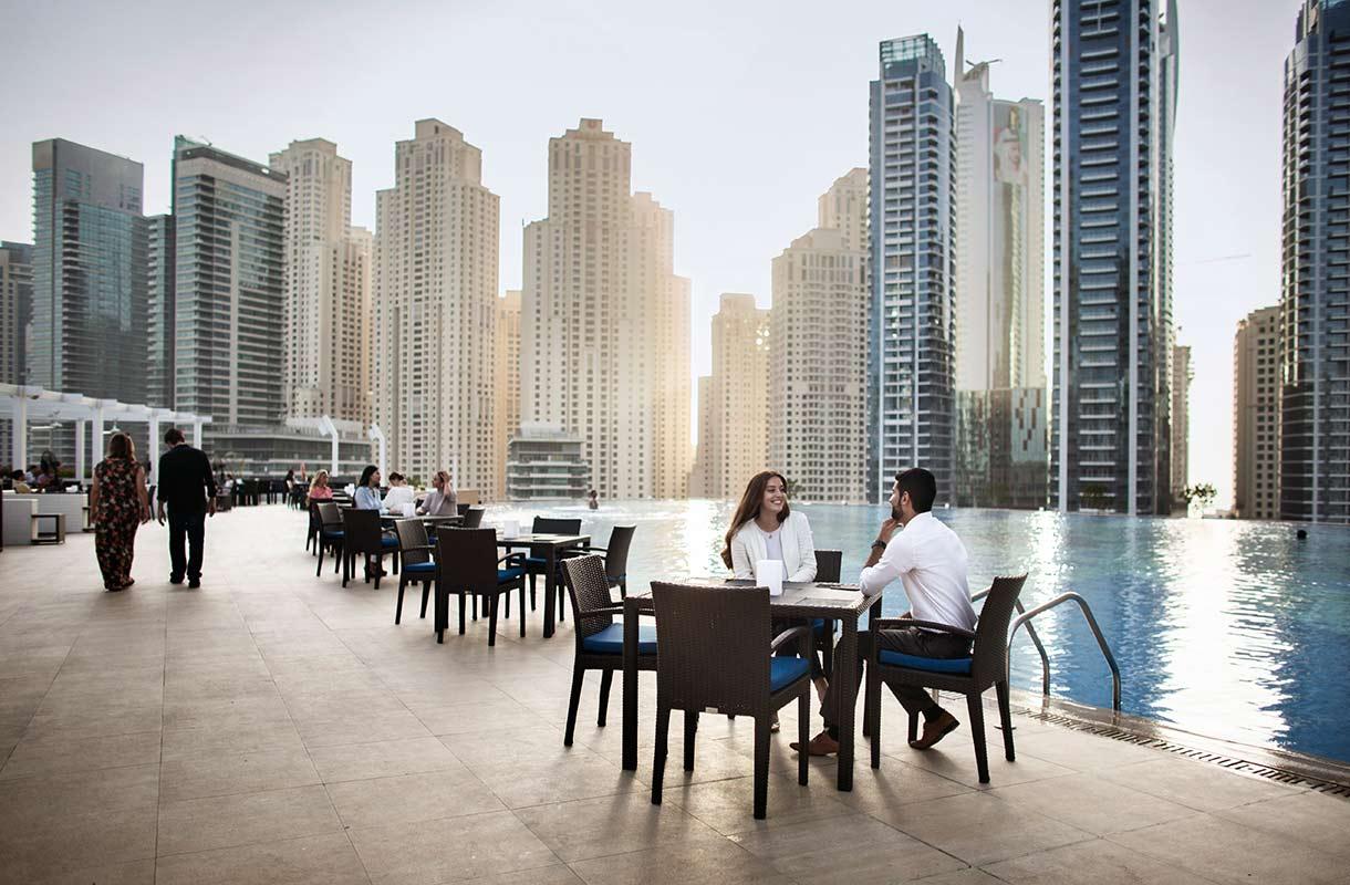 Ravintola Dubaissa