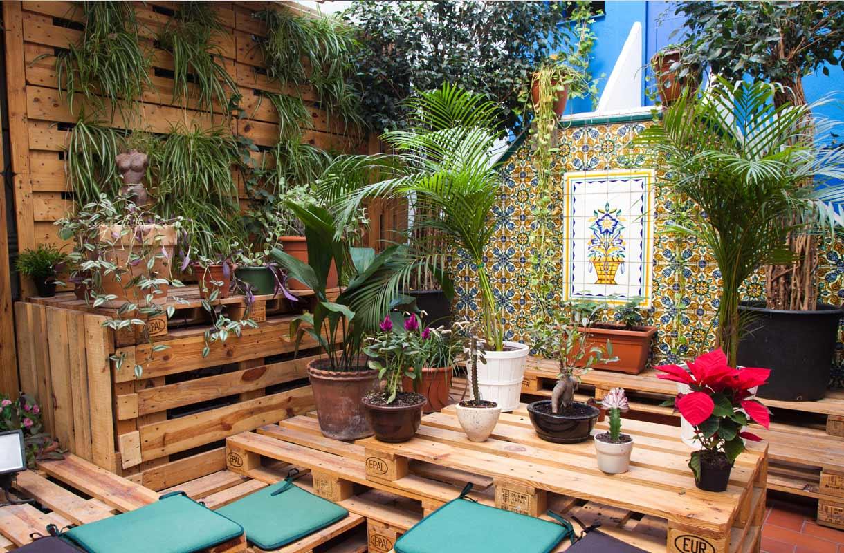 Eroottinen puutarha Barcelonassa