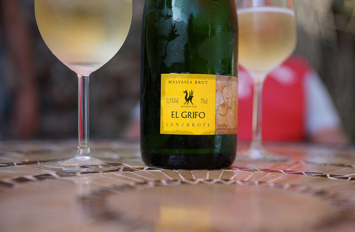 Viiniä Lanzarotella
