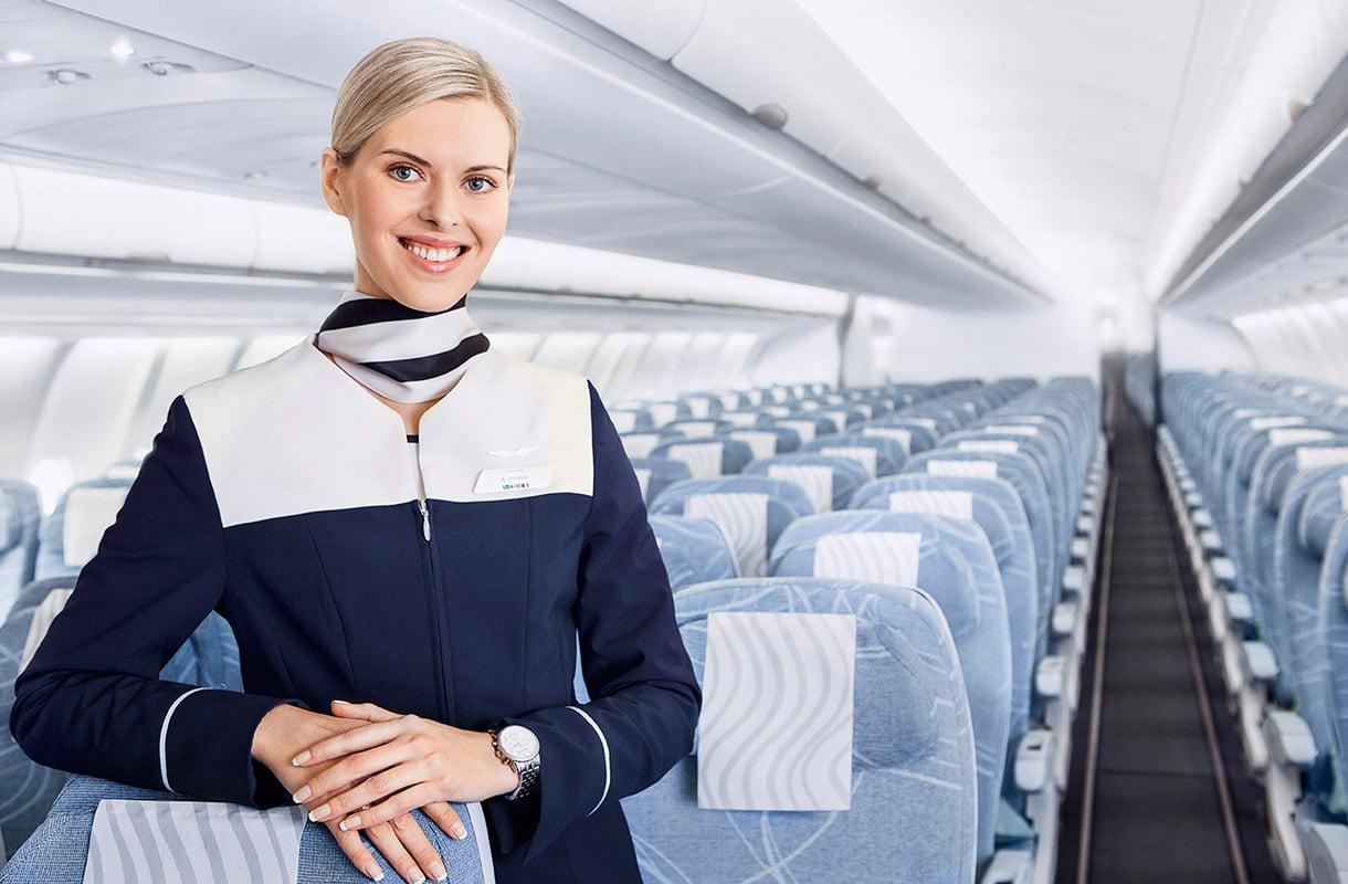 Finnairin lentoemäntä