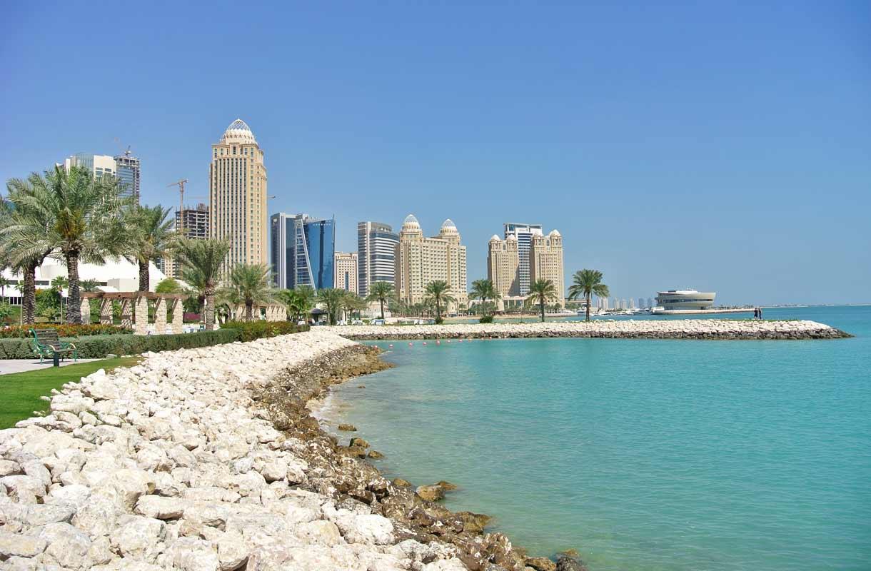 Maisema Dohassa