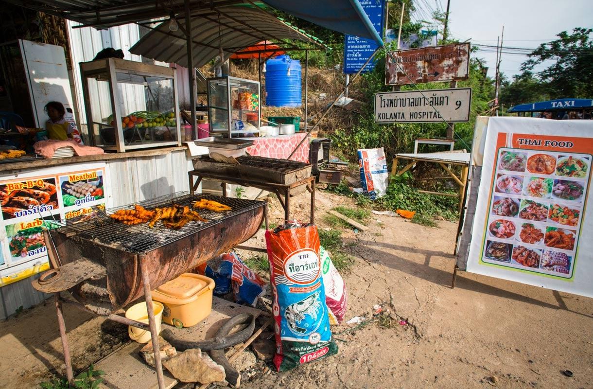 Thaimaan katuruoka