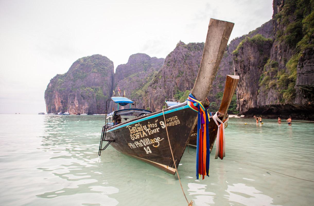Phi Phi -saaret, Thaimaa