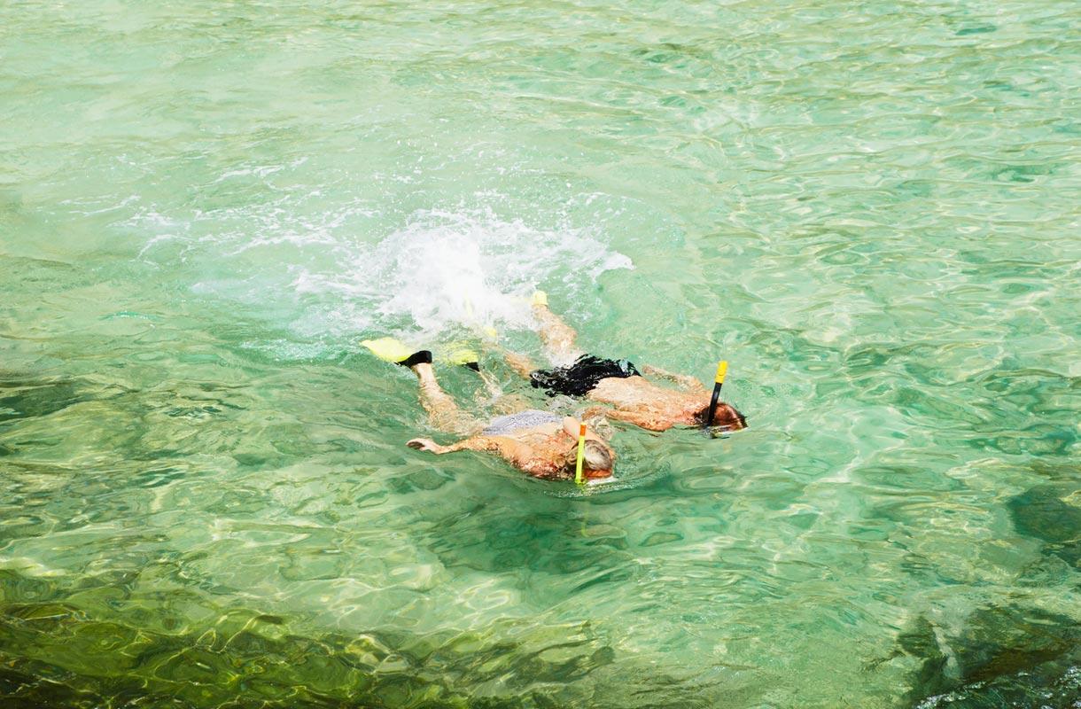 Snorklausretki Thaimaassa