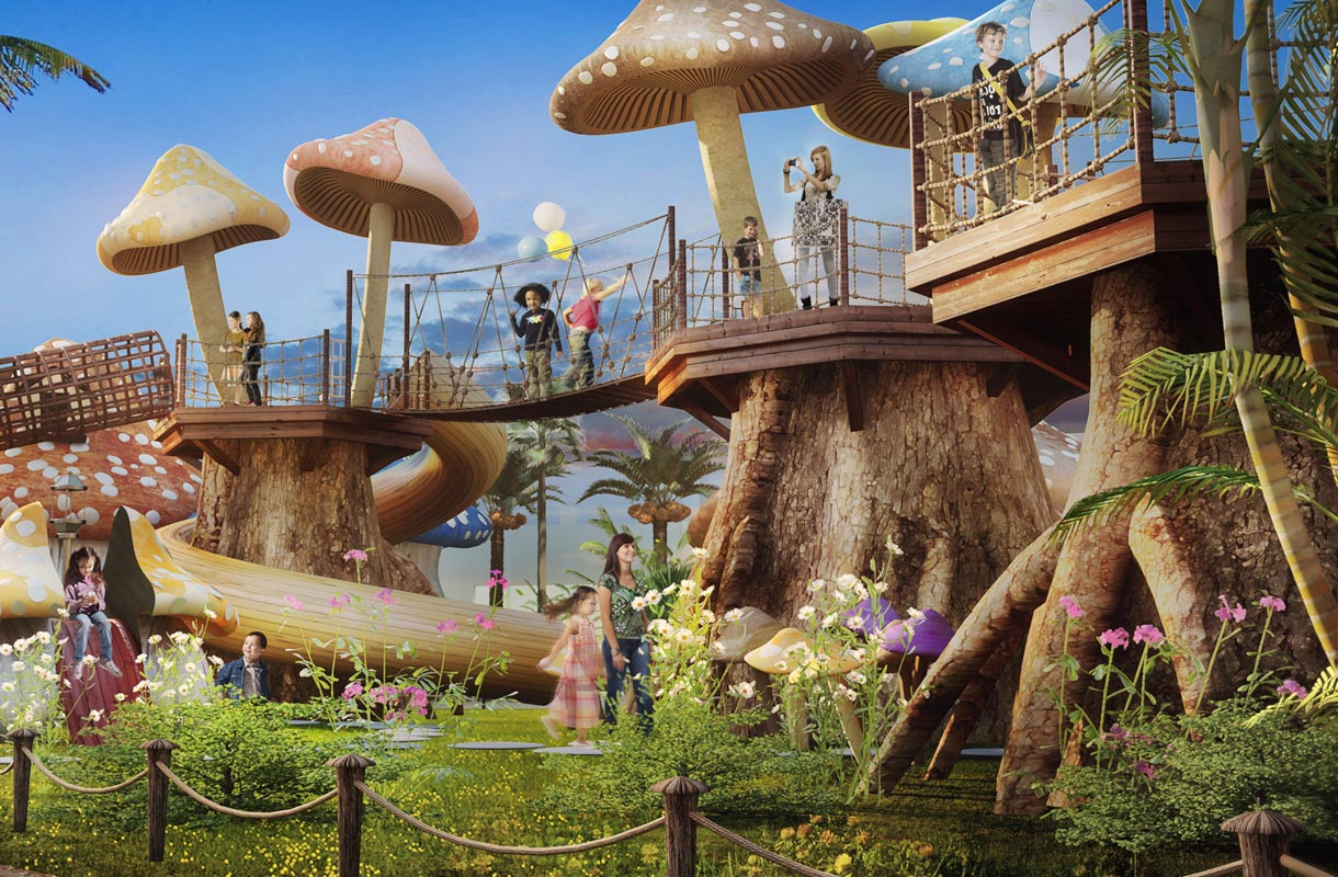 Dubain huvipuistot