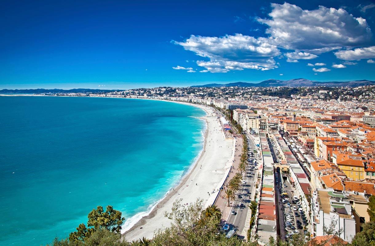 Ranskan Rivieran Nizza