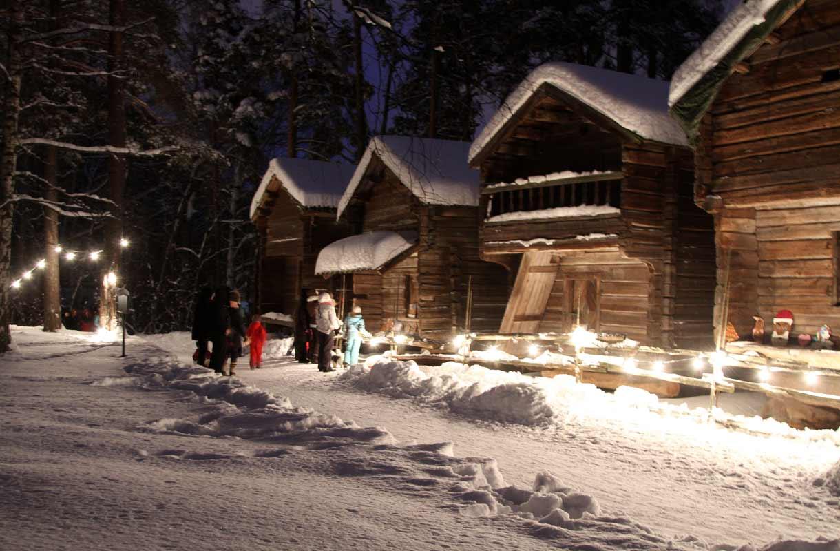 Talvi Seurasaaressa