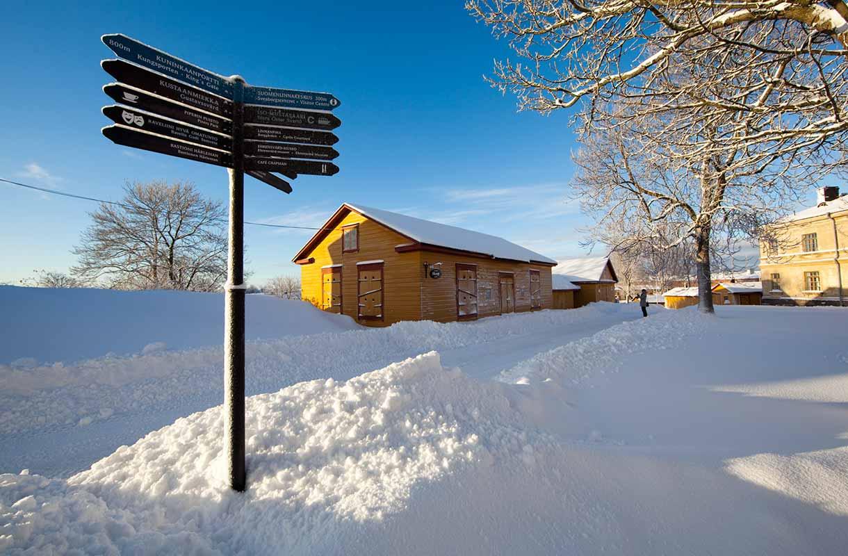 Suomenlinna talvella