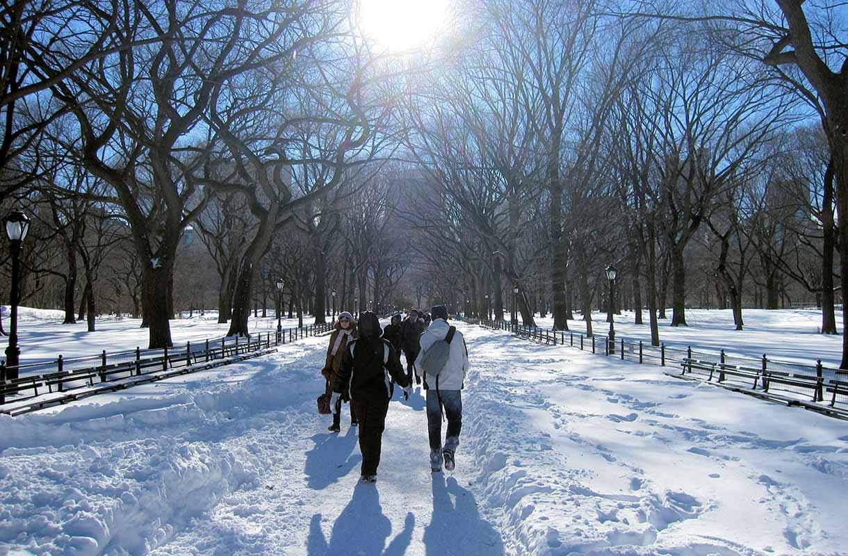 Talvi New Yorkissa
