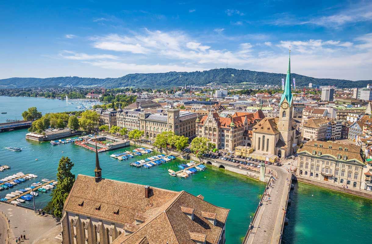 Zürichin kaupunki