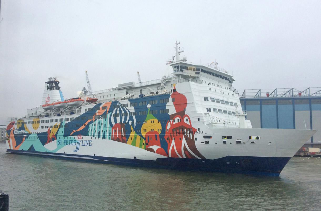 Laiva Pietariin
