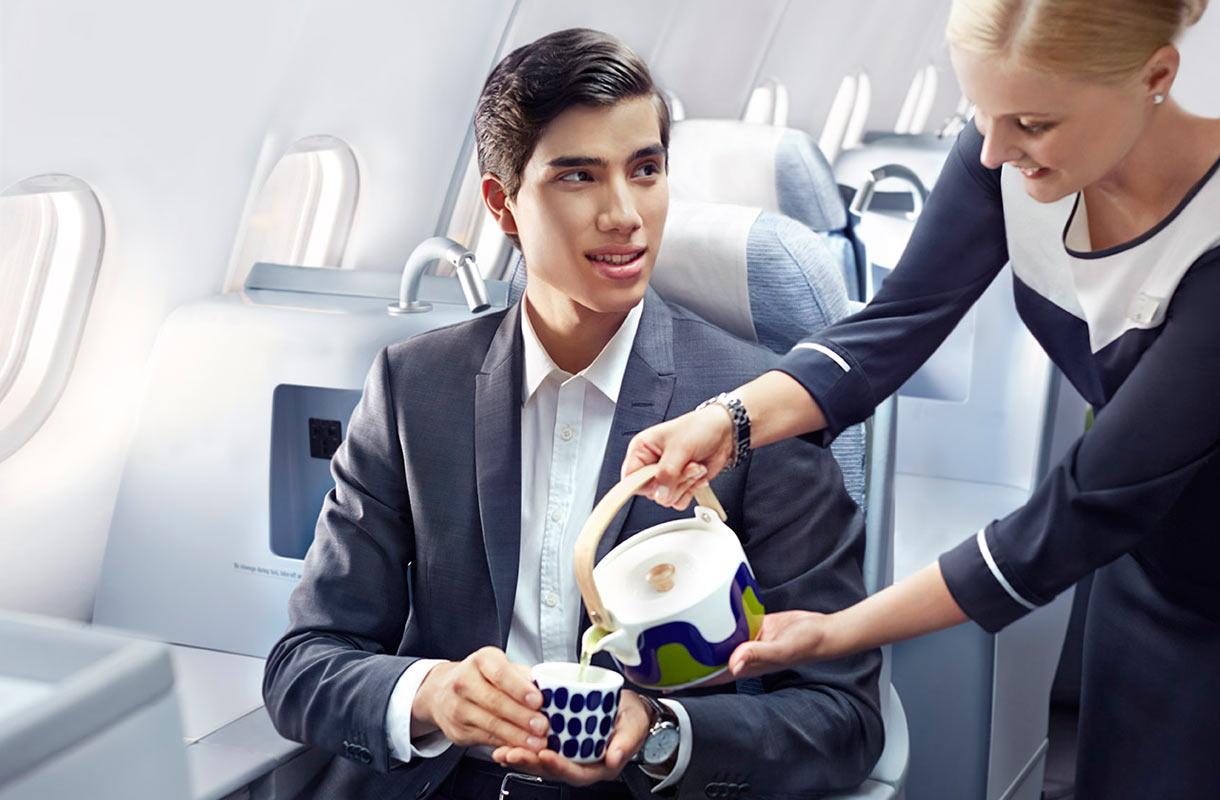 Finnairin palvelu
