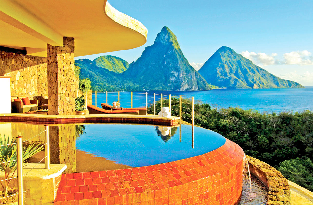 Jade Mountain Resort. St. Lucia