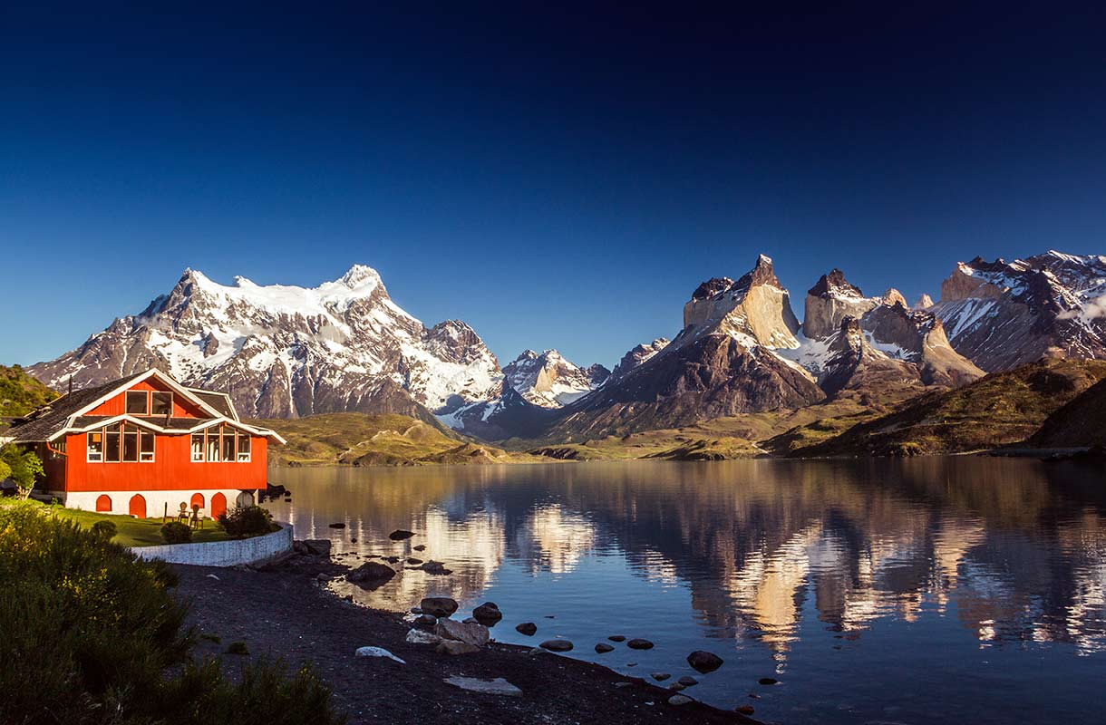 Maisema Chilessä