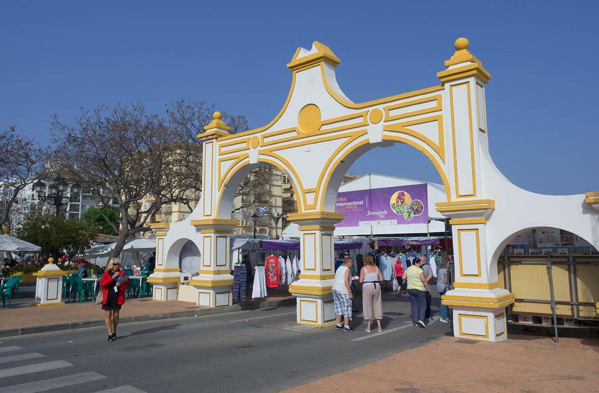 Markkinat Fuengirolassa