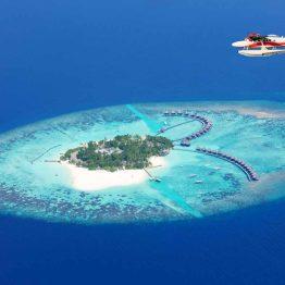 Resort-hotelli Malediiveillä