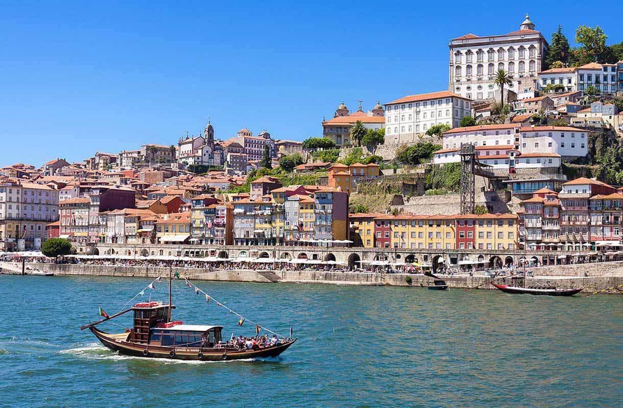 Porton vanhakaupunki, Portugali