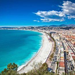 Maisema Nizzassa