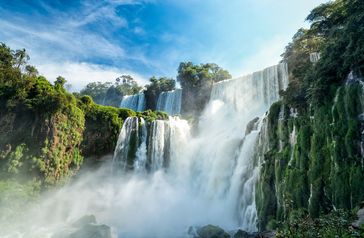 Iguazun vesiputous, Brasilia