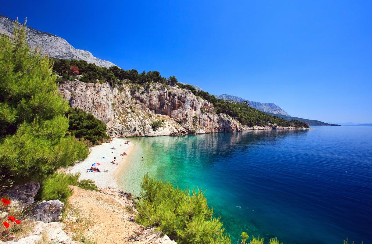 Saarihyppely Kroatiassa