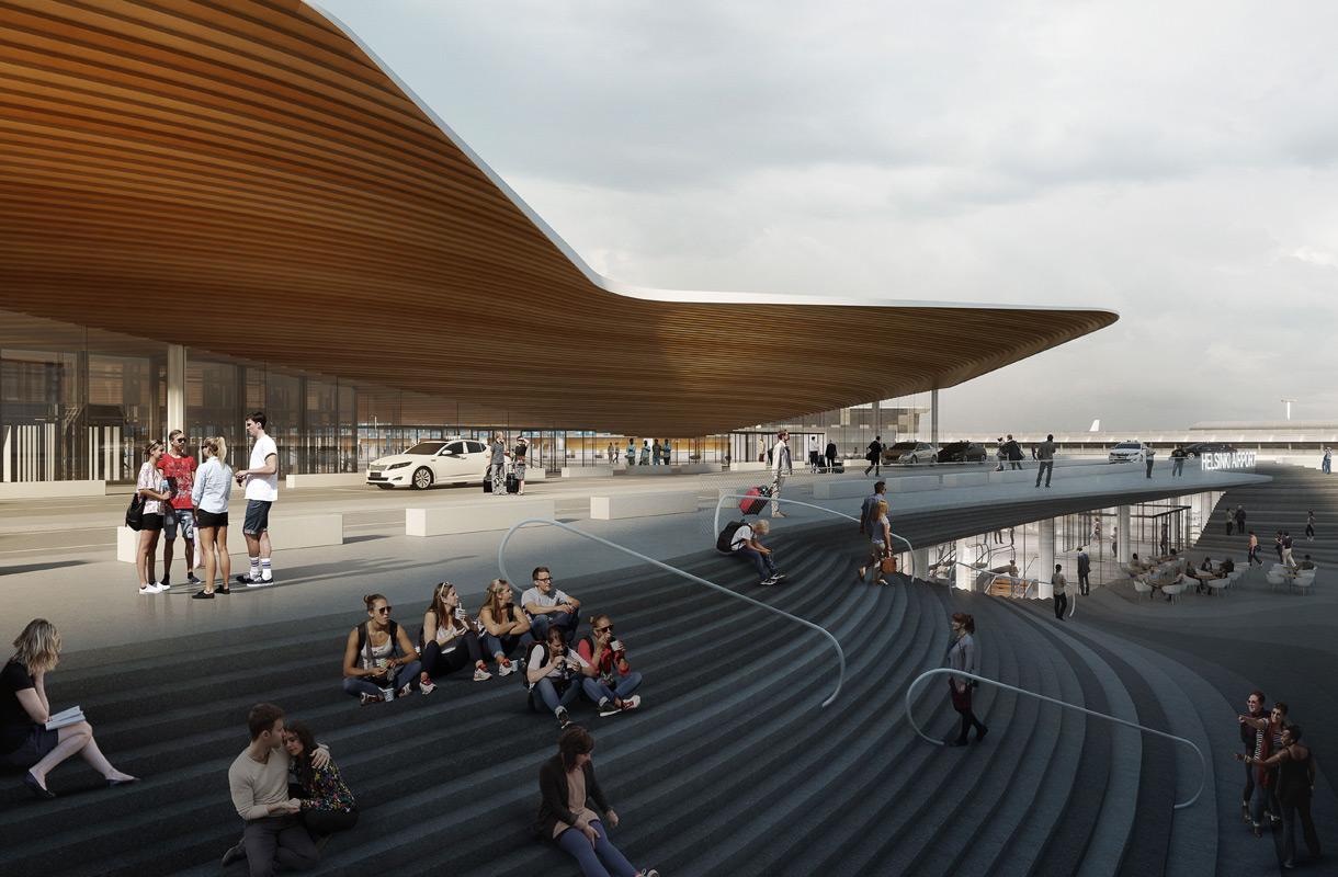Helsinki-Vantaan lentoaseman remonttityöt alkavat vuonna 2018