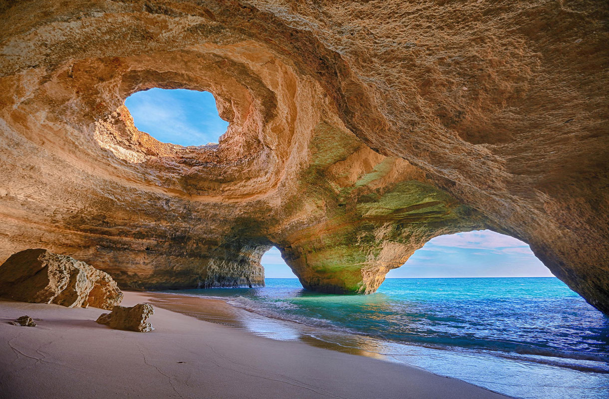 Benagilin luola, Portugali