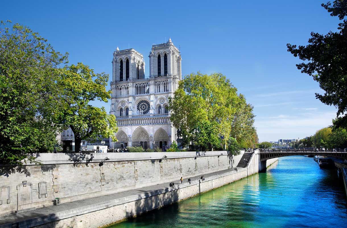 Maisema Pariisissa