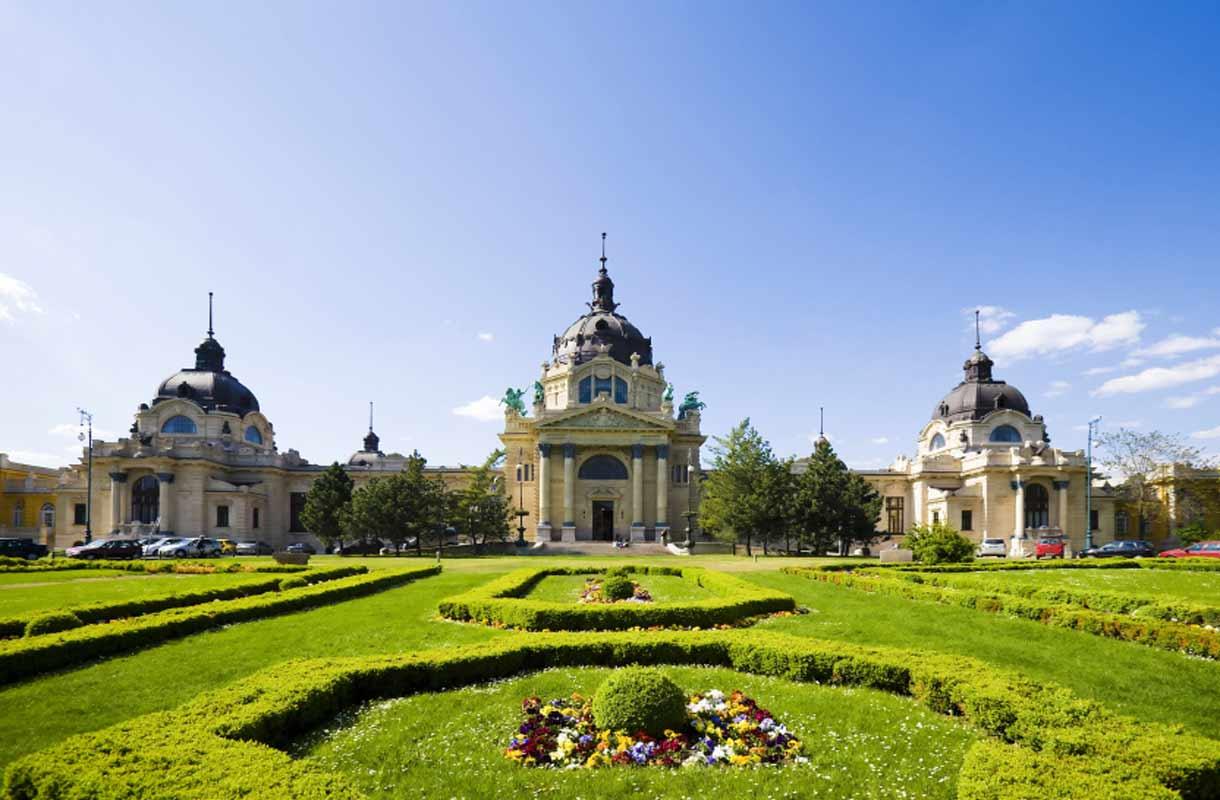 Näkymä Budapestissa