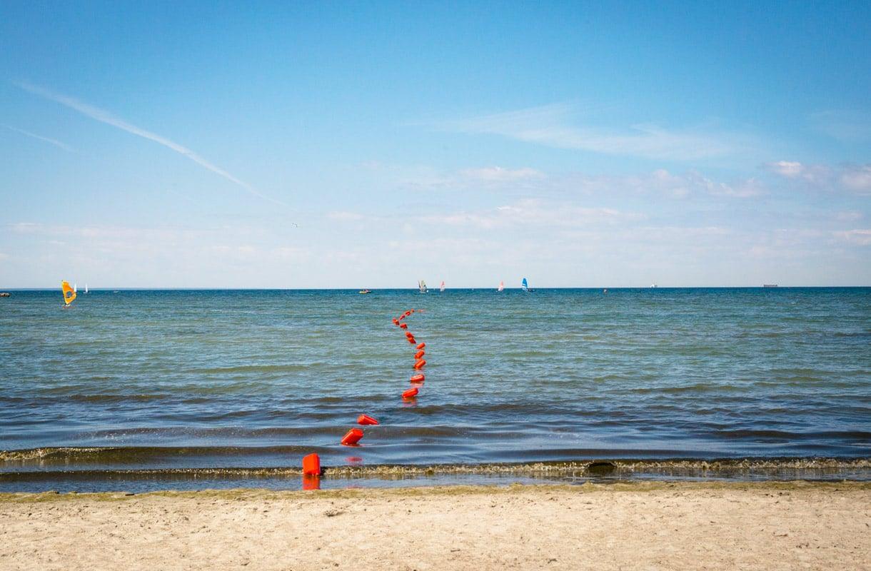Piritan uimaranta, Tallinna