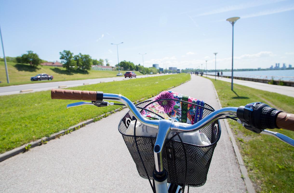 Pyöräily Tallinnassa
