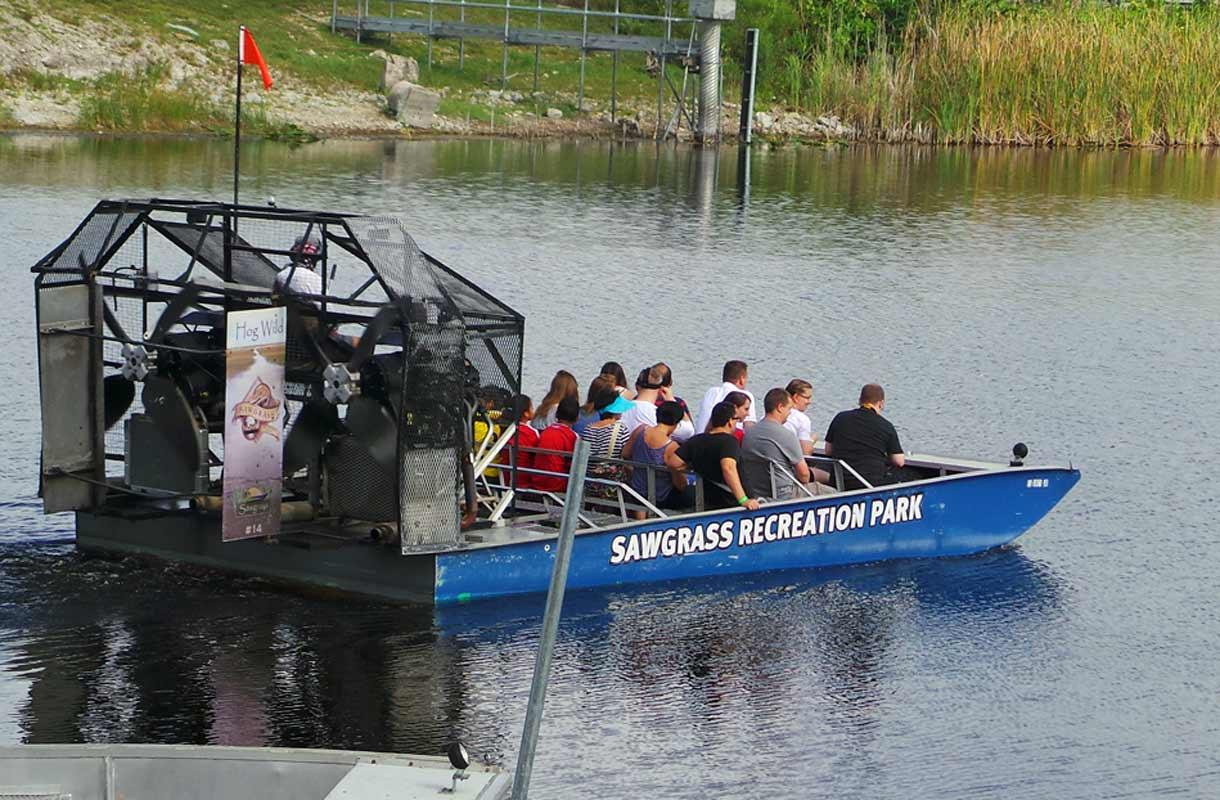 Sawgrass Recreation Park, Everglades